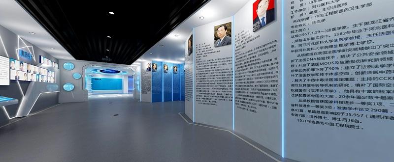 石家庄小型展厅展馆设计案例图