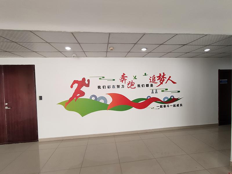 石家庄形象文化墙制作公司_石家庄博采广告
