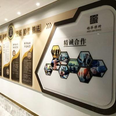 石家庄办公大楼文化墙设计公司_石家庄博采广告