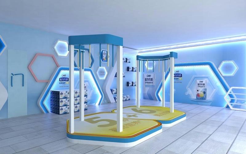 河北科技创意会展展厅布展案例,石家庄博采广告