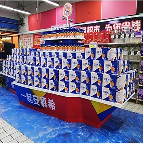 超市端架堆头设计
