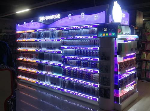 石家庄超市端架美陈设计公司
