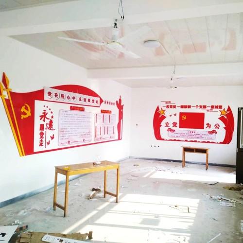 石家庄文化墙设计制作