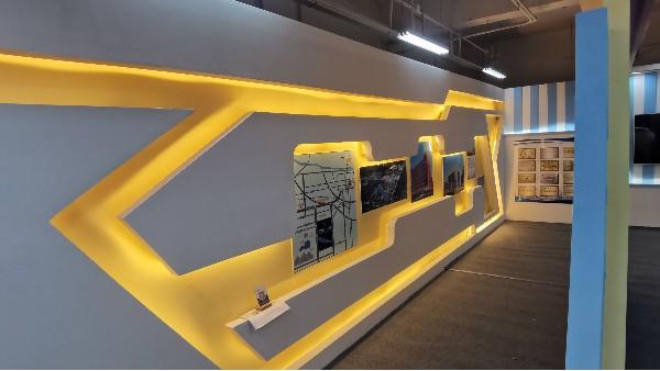 石家庄企业形象背景墙设计制作公司