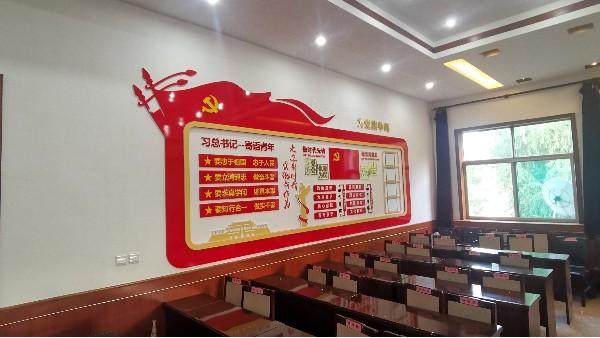 石家庄背景墙设计与制作公司