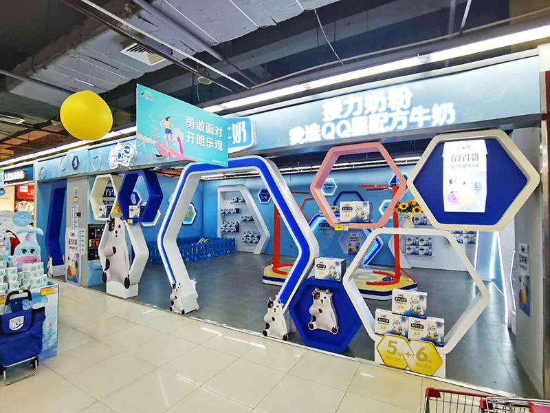 小型产品展厅布置效果图,石家庄博采广告公司