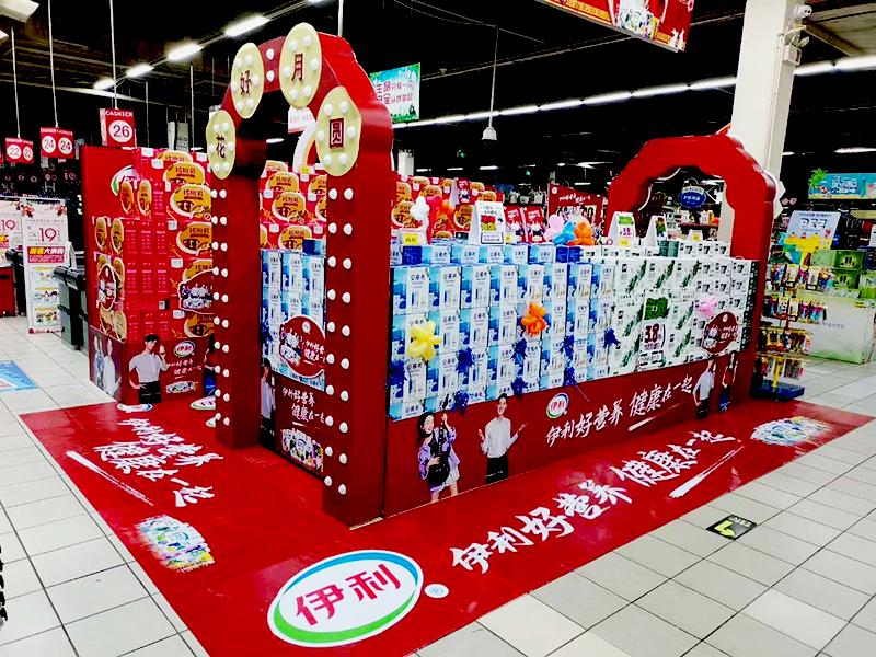 石家庄超市展柜展台设计制作厂家