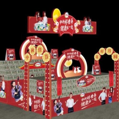 石家庄超市堆头设计制作公司