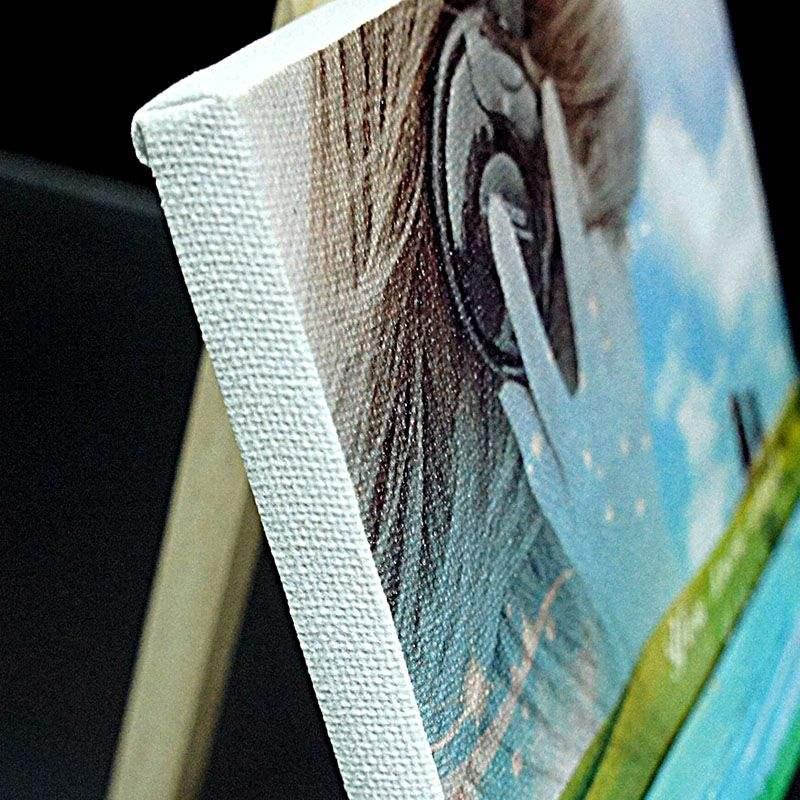 石家庄喷绘写真广告制作公司,油画布