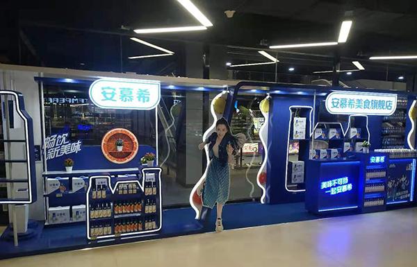 石家庄商场柜台展柜设计公司
