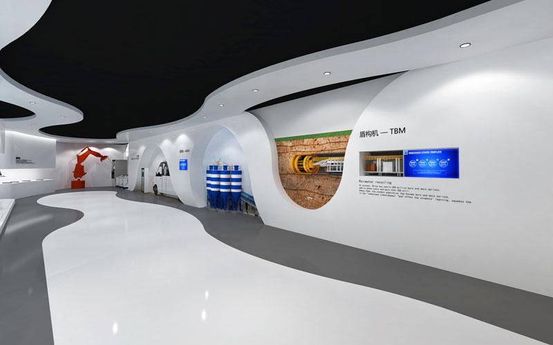 河北企业展厅设计布展案例