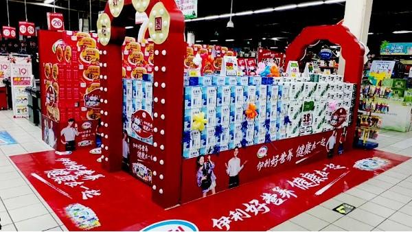石家庄节假日商场美陈设计制作_石家庄博采广告