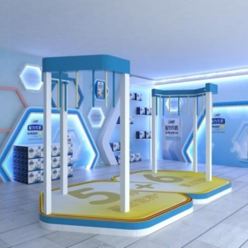 河北小型展厅展示设计效果图
