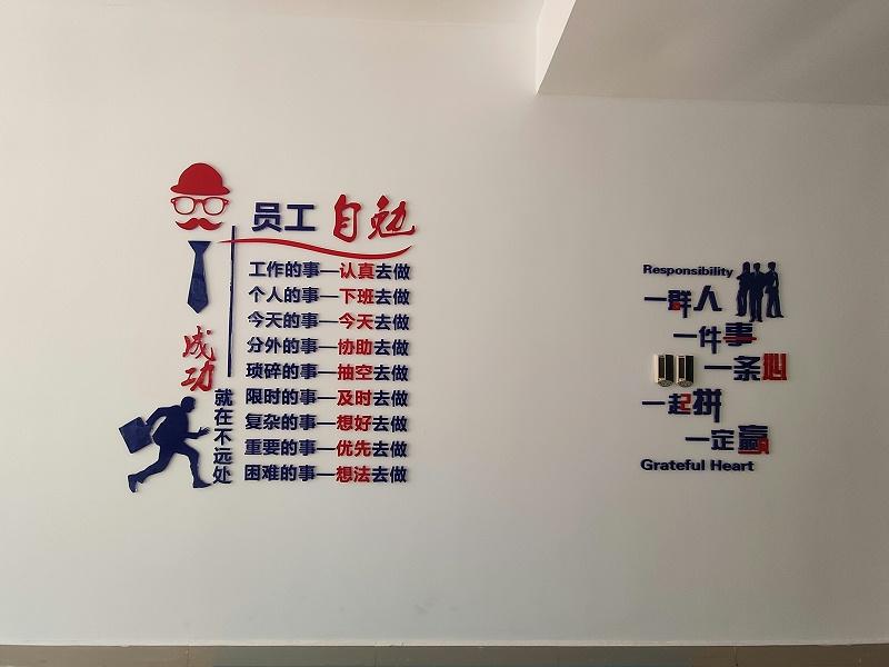 河北亚克力党建文化墙设计安装