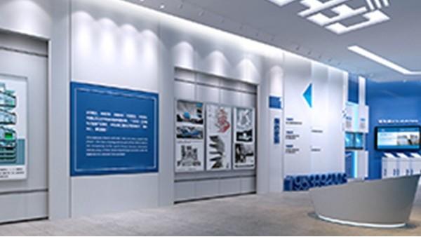 河北文化展厅设计平面图