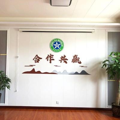 石家庄logo文化墙设计